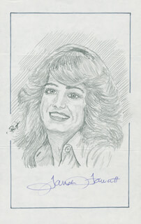 JOHN RAITT - ORIGINAL ART SIGNED CO-SIGNED BY: FARRAH FAWCETT