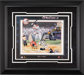 DEREK JETER - ORIGINAL ART SIGNED