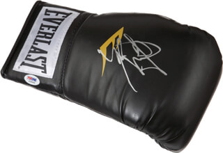 MIGUEL COTTO - BOXING GLOVE SIGNED