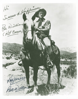 BILL WILLIAMS - AUTOGRAPHED SIGNED PHOTOGRAPH