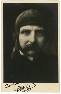 Autographs: LOUIS BLERIOT - PHOTOGRAPH SIGNED