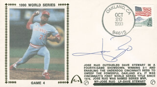 JOSE RIJO - COMMEMORATIVE ENVELOPE SIGNED