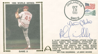 NORM CHARLTON - COMMEMORATIVE ENVELOPE SIGNED CO-SIGNED BY: ROB DIBBLE