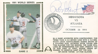 RON GANT - COMMEMORATIVE ENVELOPE SIGNED