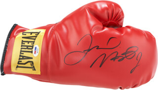 FLOYD MAYWEATHER JR. - BOXING GLOVE SIGNED