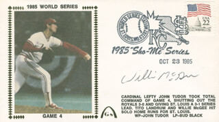 WILLIE MCGEE - COMMEMORATIVE ENVELOPE SIGNED