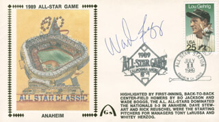 WADE BOGGS - COMMEMORATIVE ENVELOPE SIGNED