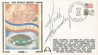 KEITH MEX HERNANDEZ - COMMEMORATIVE ENVELOPE SIGNED