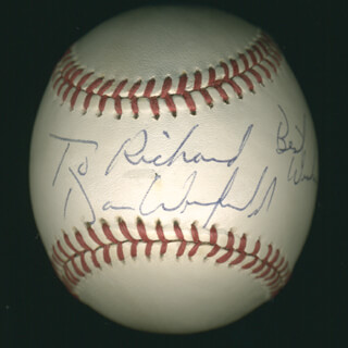 DAVE WINFIELD - INSCRIBED BASEBALL SIGNED