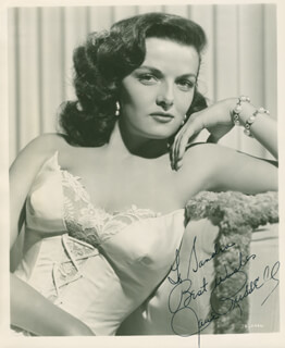 JANE RUSSELL - AUTOGRAPHED INSCRIBED PHOTOGRAPH