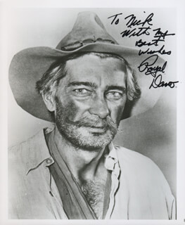 ROYAL DANO - AUTOGRAPHED INSCRIBED PHOTOGRAPH