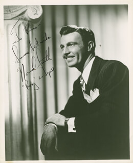 NORWOOD SMITH - AUTOGRAPHED INSCRIBED PHOTOGRAPH 09/20/1951