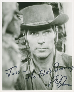L. Q. JONES - AUTOGRAPHED INSCRIBED PHOTOGRAPH