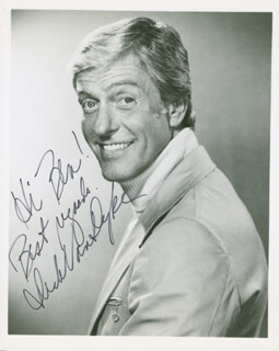 DICK VAN DYKE - AUTOGRAPHED INSCRIBED PHOTOGRAPH