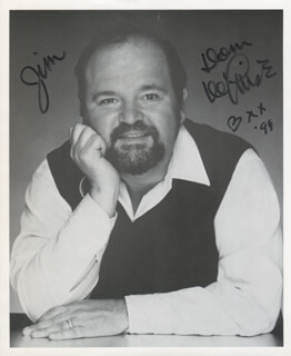 DOM DELUISE - AUTOGRAPHED INSCRIBED PHOTOGRAPH 1999
