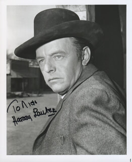 HARRY LAUTER - AUTOGRAPHED INSCRIBED PHOTOGRAPH