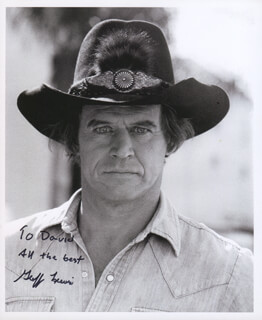GEOFFREY LEWIS - AUTOGRAPHED INSCRIBED PHOTOGRAPH