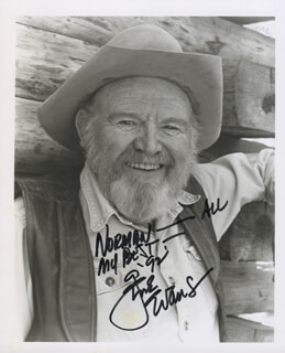 GENE EVANS - AUTOGRAPHED INSCRIBED PHOTOGRAPH