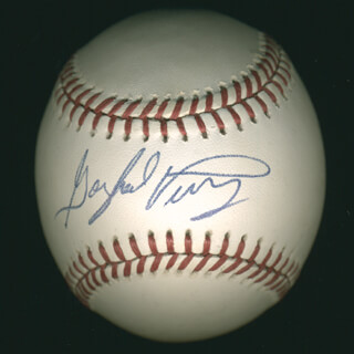 GAYLORD PERRY - AUTOGRAPHED SIGNED BASEBALL