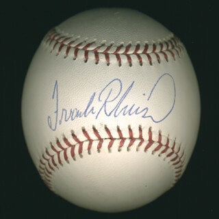 FRANK ROBINSON - AUTOGRAPHED SIGNED BASEBALL