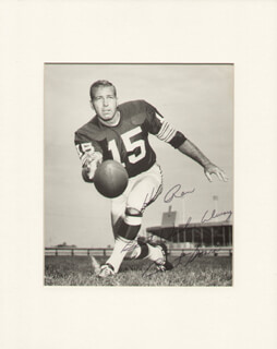 BART STARR - AUTOGRAPHED INSCRIBED PHOTOGRAPH