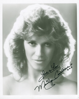 MARILYN CHAMBERS - AUTOGRAPHED SIGNED PHOTOGRAPH