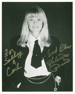 VALERIE PERRINE - AUTOGRAPHED INSCRIBED PHOTOGRAPH