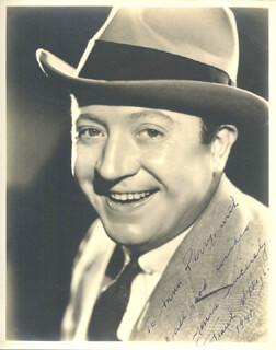FRANK McHUGH - AUTOGRAPHED INSCRIBED PHOTOGRAPH 1940