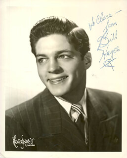 BILL HAYES - AUTOGRAPHED INSCRIBED PHOTOGRAPH