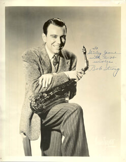 BOB STRONG - AUTOGRAPHED INSCRIBED PHOTOGRAPH