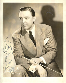 ALVINO REY - AUTOGRAPHED INSCRIBED PHOTOGRAPH