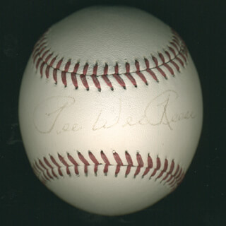 PEE WEE REESE - AUTOGRAPHED SIGNED BASEBALL