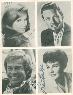 BLOSSOM TIME PLAY CAST - PROGRAM SIGNED CO-SIGNED BY: TERRENCE MONK, EARL WRIGHTSON, LOIS HUNT, SALLY ANN HOWES