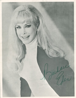 BARBARA EDEN - PROGRAM SIGNED