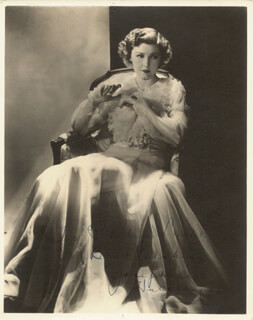 JOSEPHINE HUTCHINSON - AUTOGRAPHED INSCRIBED PHOTOGRAPH