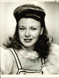 GINGER ROGERS - AUTOGRAPHED INSCRIBED PHOTOGRAPH 1941