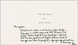 PRESIDENT WILLIAM J. BILL CLINTON - AUTOGRAPH LETTER SIGNED