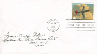 FLORENE MILLER WATSON - FIRST DAY COVER SIGNED 3/2000