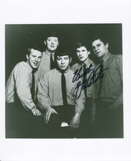 Autographs: THE ANIMALS (HILTON VALENTINE) - PHOTOGRAPH SIGNED