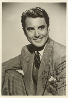 STAN BRAD TAYLOR BROWN - AUTOGRAPHED INSCRIBED PHOTOGRAPH