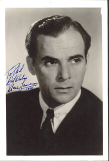 MARC LAWRENCE - AUTOGRAPHED INSCRIBED PHOTOGRAPH 1941