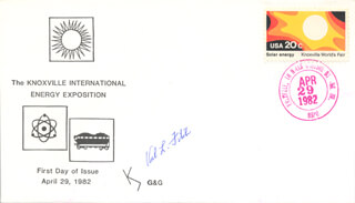 Autographs: VAL L. FITCH - FIRST DAY COVER SIGNED