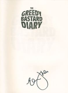 ERIC IDLE - BOOK SIGNED