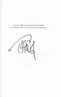 CHEECH & CHONG (TOMMY CHONG) - BOOK SIGNED