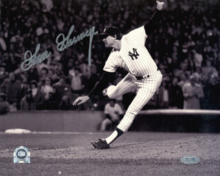 RICH GOOSE GOSSAGE - AUTOGRAPHED SIGNED PHOTOGRAPH