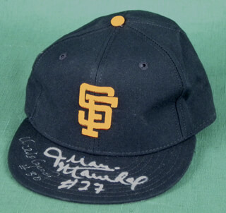 THE SAN FRANCISCO GIANTS - HAT SIGNED CO-SIGNED BY: JUAN MARICHAL, ORLANDO THE BABY BULL CEPEDA