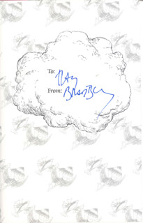 RAY BRADBURY - BOOK SIGNED