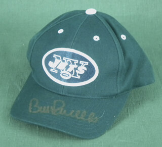 BILL PARCELLS - HAT SIGNED