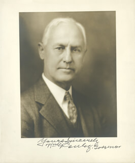Autographs: WILLIAM GUSTAVUS CONLEY - PHOTOGRAPH SIGNED CIRCA 1931