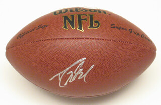 DREW BREES - FOOTBALL SIGNED